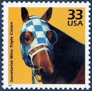 Конь Секретариат – спортивная легенда США. С ним работали агенты Софи Лорен и Элвиса Пресли, а его рекорды не побиты 50 лет