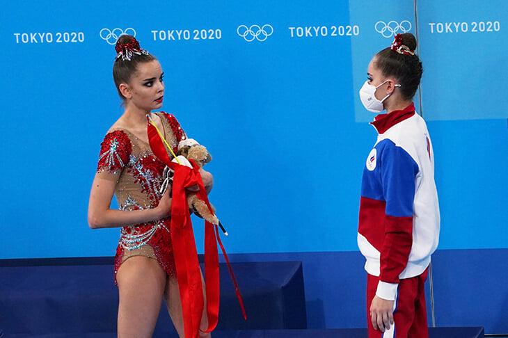 художественная гимнастика, Ирина Винер, сборная России (художественная гимнастика), Арина Аверина, Дина Аверина, Линой Ашрам