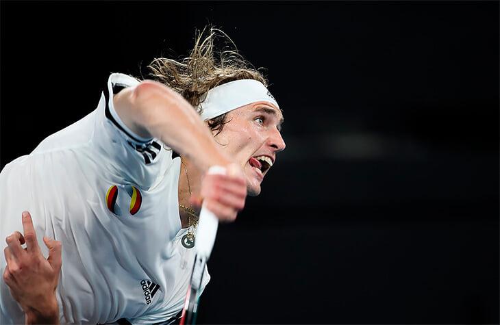Вторая подача Зверева – худший удар в теннисе. Из-за нее он обматерил отца
