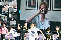 Орхус, болельщики, высшая лига Дания