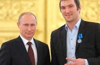 Владимир Путин, Александр Овечкин