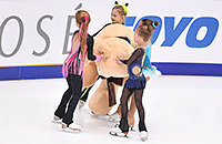 Алина Загитова, Гран-приРоссии, женское катание, сборная России