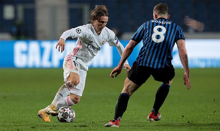 «Реал» долго мучился с «Аталантой»: 70 минут взламывал соперника в большинстве. Победный гол репетировали, но забил не тот