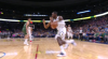 Paul Millsap with one of the day's best dunks
