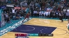 LeBron James with the big dunk
