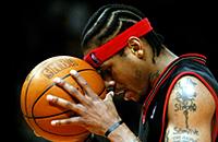 НБА, стиль, Аллен Айверсон, Шакил О′Нил