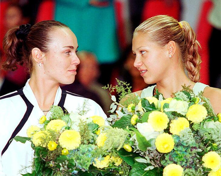 Курникова и Хингис однажды чуть не подрались – из-за того, кто из них королева