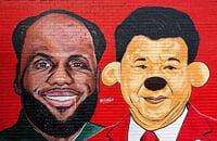 Леброн отказался говорить о Китае. Теперь он Мао Цзеброн