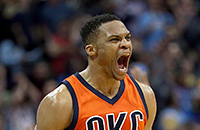Оклахома-Сити, НБА, Расселл Уэстбрук, видео