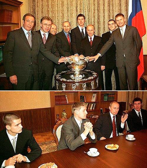Сафин о допинг-скандале, политике и Путине