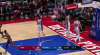 Derrick Jones Jr. with one of the day's best dunks