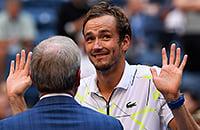 ATP, Даниил Медведев, Стэн Вавринка, US Open