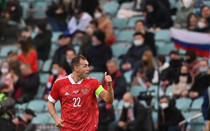 Дзюба уложил Словению дублем. Остался всего гол до Кержакова, потом будет новая цель – рекорд Блохина