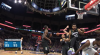 Karl-Anthony Towns sends the shot away