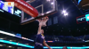 Mason Plumlee goes up to get it and finishes the oop