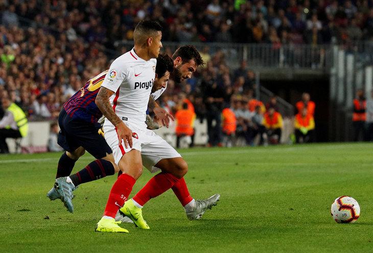 Видео травмы Лео Месси вматче Барселона