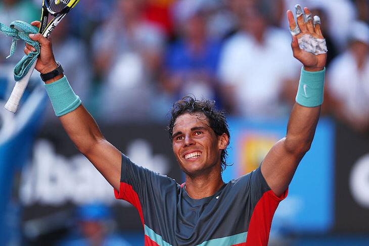 Мозоли преследуют теннисистов: Сафин из-за них проигрывал на «Ролан Гаррос», перевязанные пальцы –знак Надаля