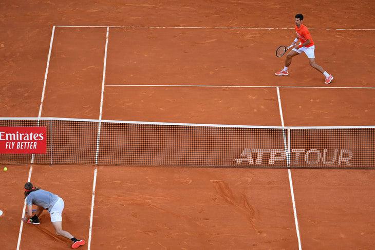Джокович вышел в финал турнира ATP в Мадриде, обыграв Тима