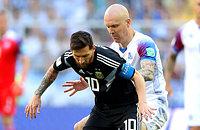 Исландия отстояла ничью с Аргентиной