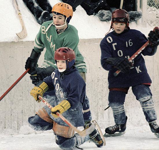 болельщики, Сборная России по хоккею, Зимняя классика