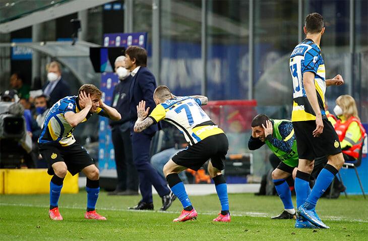 «Интер» сыграл с «Ромой» в шикарной форме с 4 цветами, паттернами в честь художника-основателя клуба и новым лого. Серия А была против