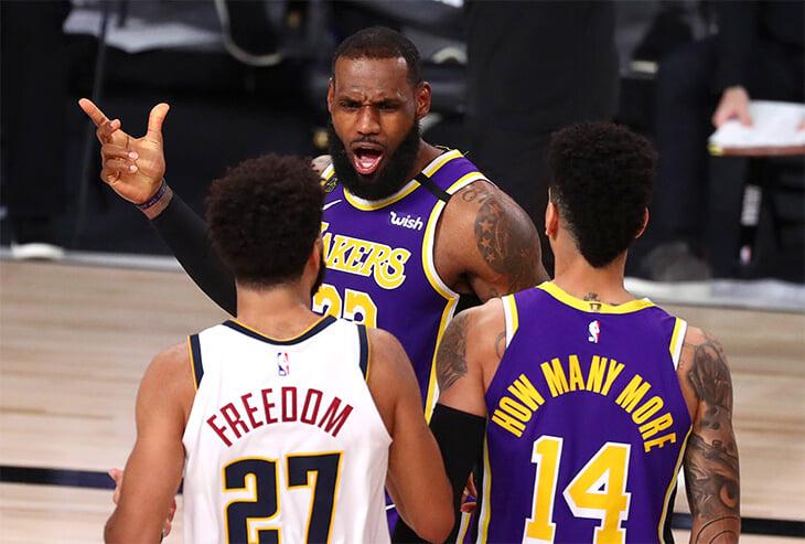 Леброн – опять в финале НБА. Включил беспощадный режим, вынес «Денвер» и вернул «Лейкерс» корону Запада