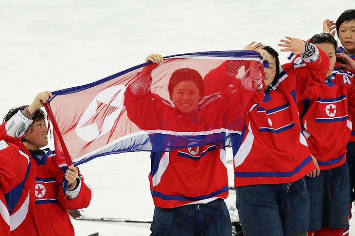 сборная Южной Кореи жен, олимпийский хоккейный турнир, Пхенчхан-2018, женский хоккей