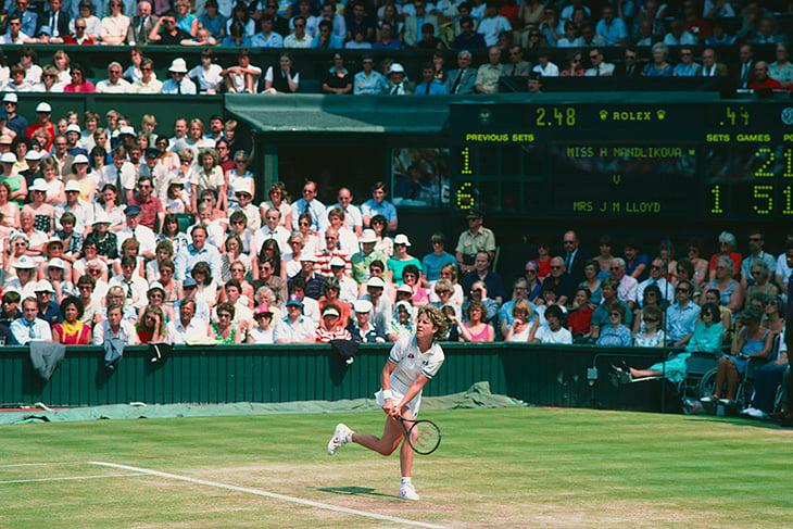 Крис Эверт – символ эпохи: первой в спорте заработала миллион и на грунте добилась больше Надаля