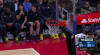 Reggie Jackson nails it from behind the arc