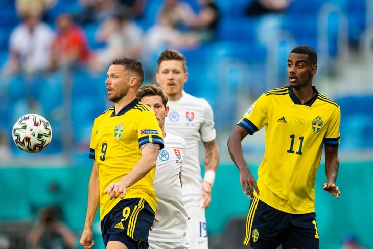 Швед Александер Исак – звезда Евро (хотя еще не забил ни разу). Сам Златан называл его новым Златаном