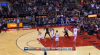Jonas Valanciunas gets it to go at the buzzer