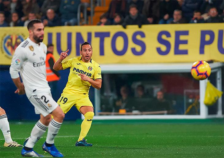 «Реал» прошляпил победу над «Вильярреалом» вПримере, Касорла оформил дубль