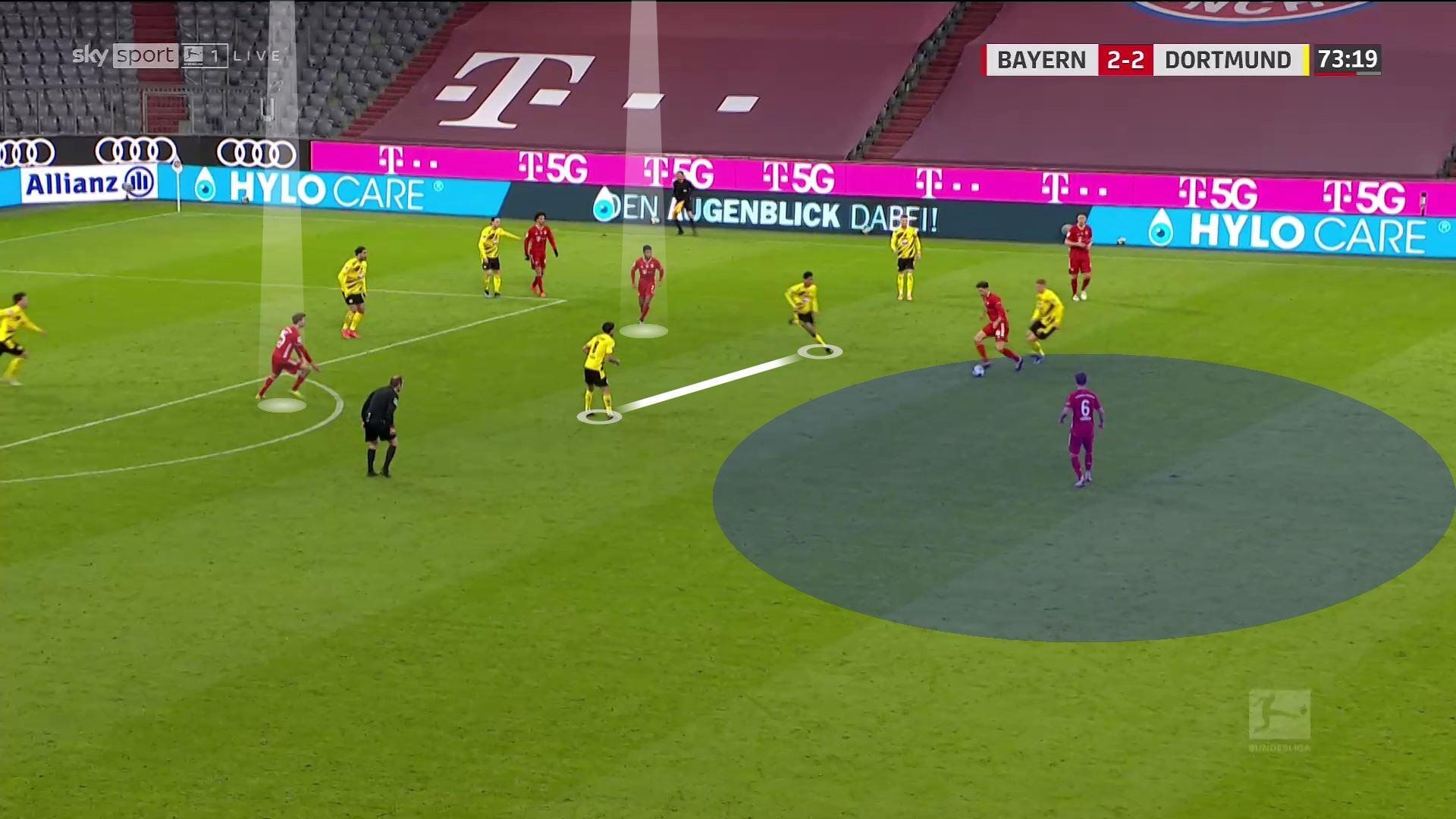 «Боруссия» удивила схемой – Холанд выжал максимум из стартового отрезка. Но дальше 80 минут тотально доминировала «Бавария»