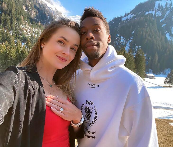 Монфис и Свитолина поженятся, хотя еще в феврале прервали отношения. Он подарил ей кольцо за 700к евро 💍