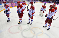 сборная России, олимпийский хоккейный турнир