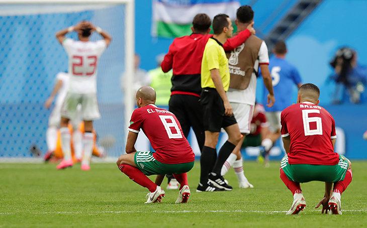 Сборная Ирана по футболу, ЧМ-2018, Сборная Марокко по футболу, Азиз Бухаддуз, Алиреза Бейранванд