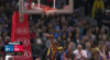 Andre Iguodala with the huge dunk!