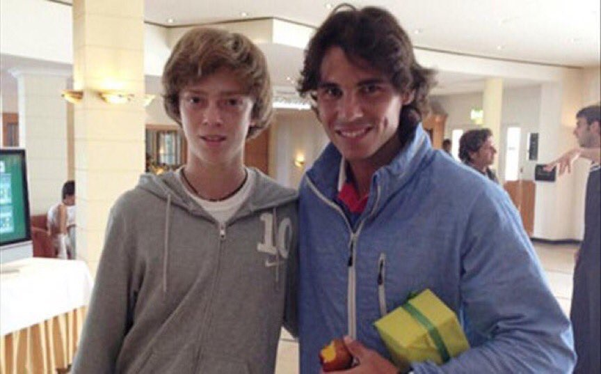 Андрей Рублев, US Open, Рафаэль Надаль, фото, ATP