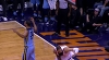 Tyson Chandler with one of the day's best dunks