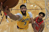 Новый Орлеан, НБА, Лейкерс, видео, Энтони Дэвис