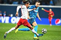 «Лейпциг» забил «Зениту» на последних секундах первого тайма – 0:1