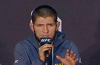 Хабиб извинился за драку и сказал, что хочет убрать трешток из UFC