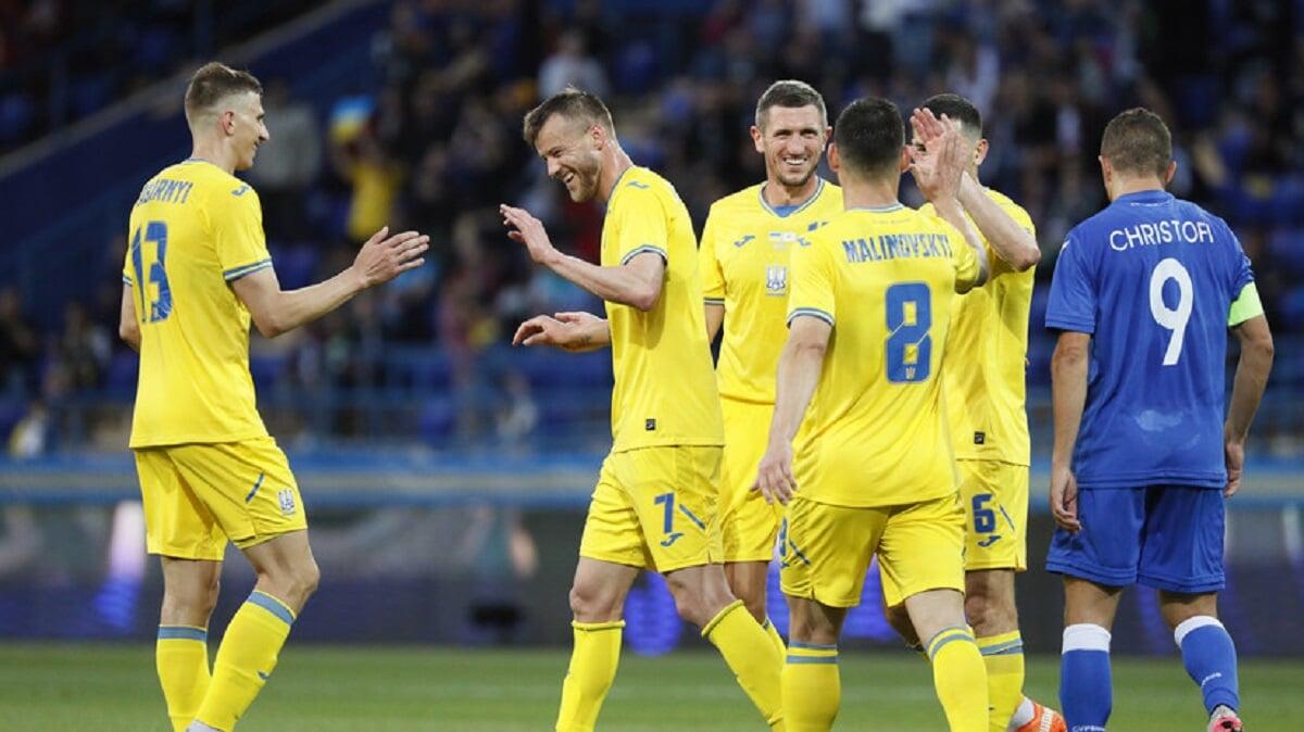 Украина проиграла 6 матчей подряд на Евро, повторив антирекорд сборной Югославии