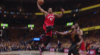 DeMar DeRozan with one of the day's best dunks
