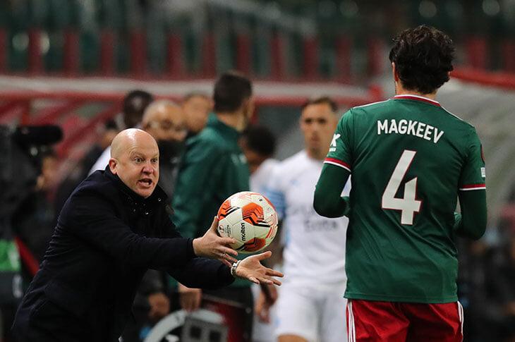 Николич перешел на 4-3-3 – и «Марсель» атаковал только через Гендузи. План подошел для защиты, но «Локо» провалился в атаке