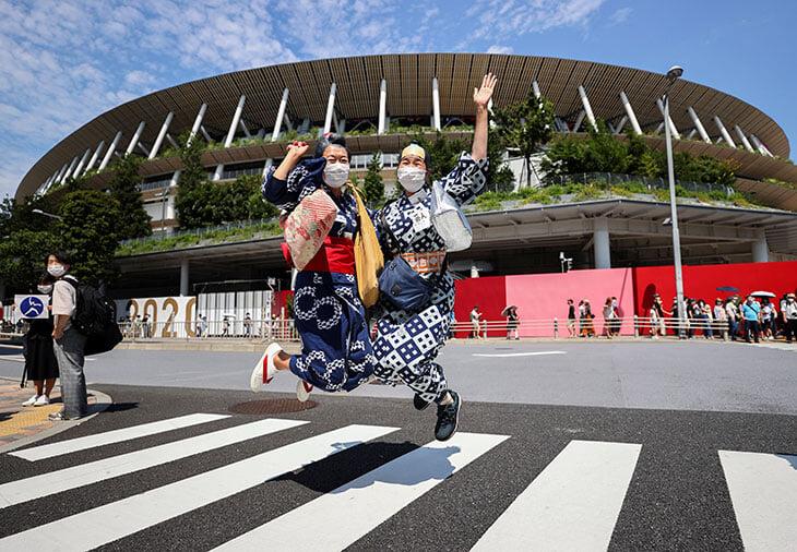 Открытие Олимпиады-2020: все самое важное с церемонии и вокруг нее. Онлайн