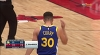 Stephen Curry with 30 Points  vs. Chicago Bulls