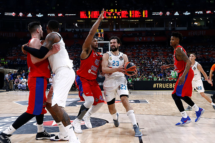 Реал, Turkish Airlines Euroleague, ЦСКА