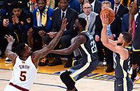 НБА плей-офф, НБА, Голден Стэйт, видео, Стефен Карри, Кливленд