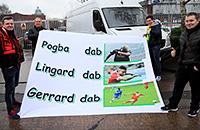 премьер-лига Англия, Поль Погба, Манчестер Юнайтед, Стивен Джеррард, болельщики, Ливерпуль, Джесси Лингард